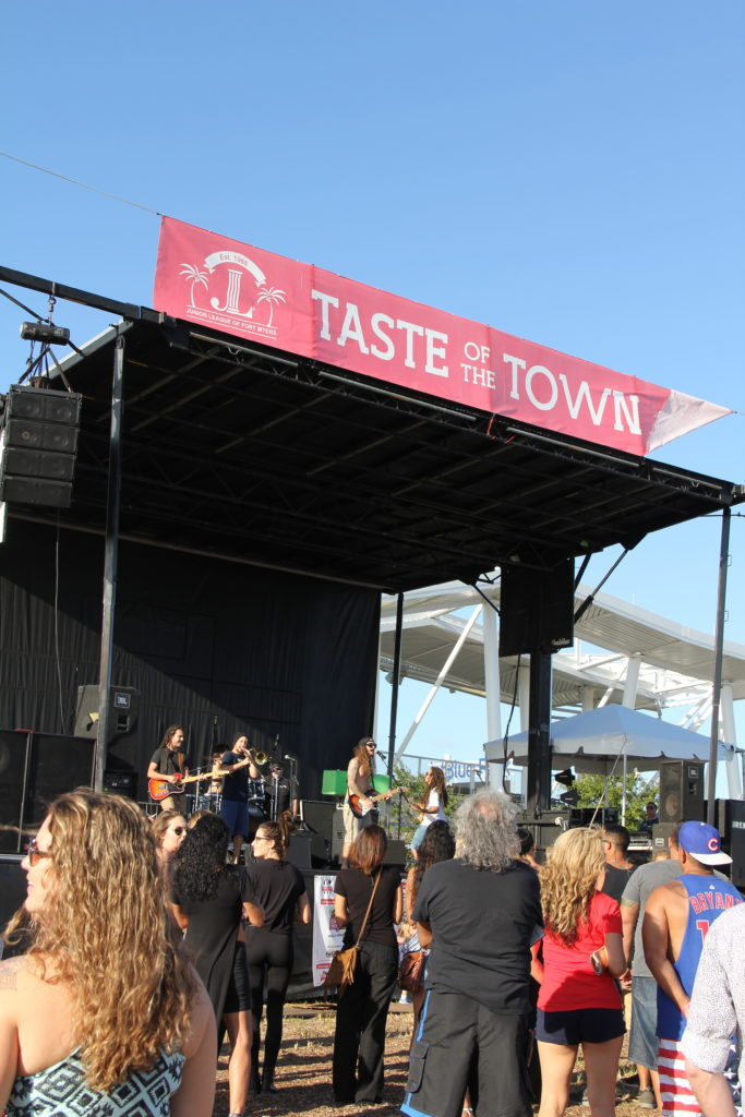 SOWFLO at Taste of the town