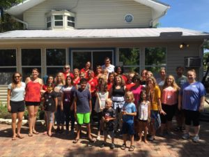 junior league of fort myers volunteering at valeries house